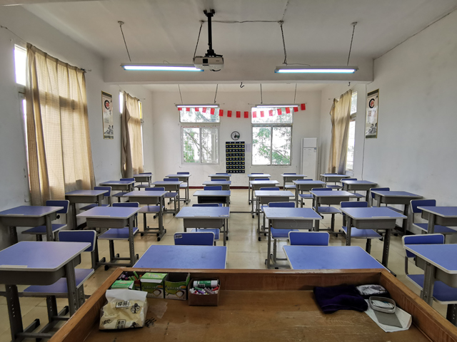 湖北现代科技学校教室
